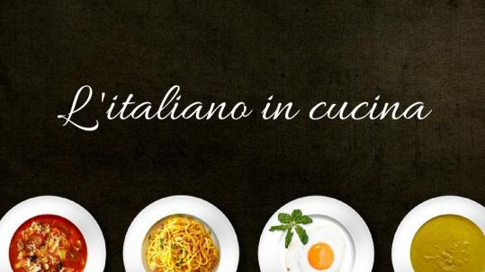 L'italiano in cucina: corso di formazione TradInFo