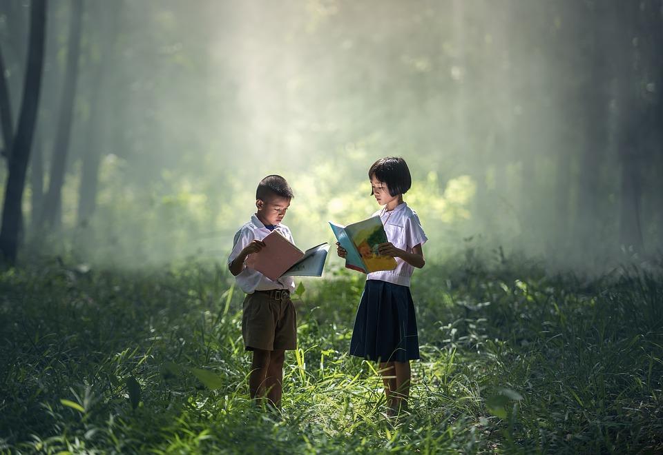 Giornata del libro e del diritto d'autore, bambini