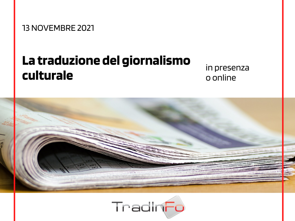 La traduzione del giornalismo culturale