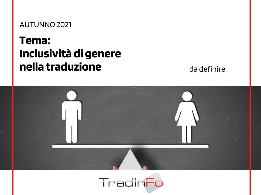 Inclusività di genere nella traduzione